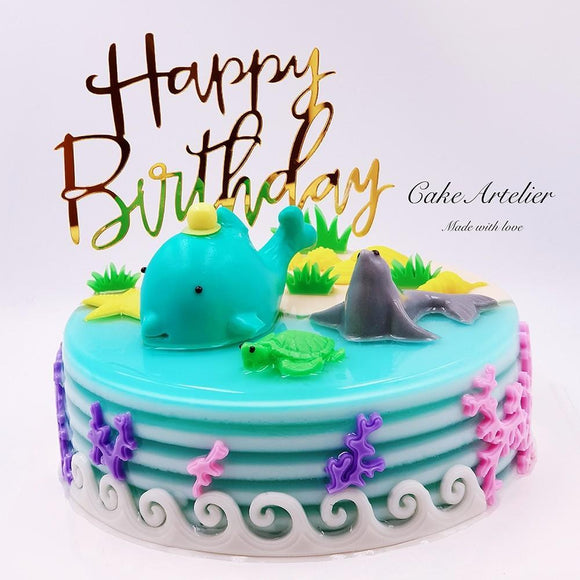 Sea world (03) - CakeArtelier