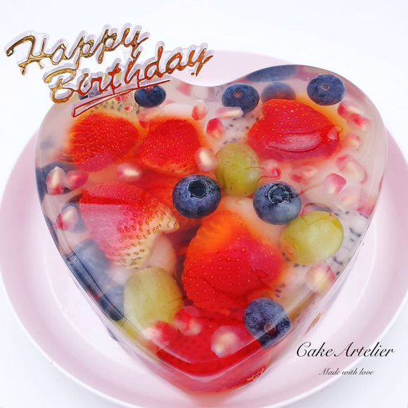 Fruits cake (02) - CakeArtelier