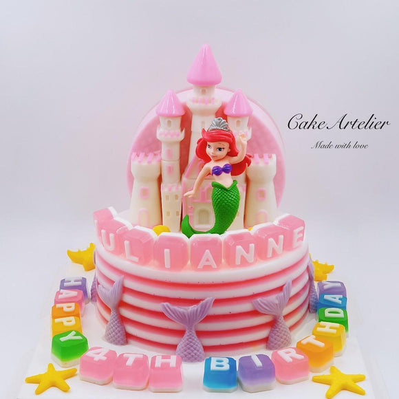 Princess (Castle) - CakeArtelier