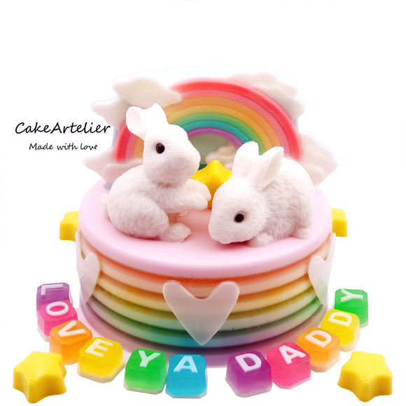 Rabbit Twin (02) - CakeArtelier