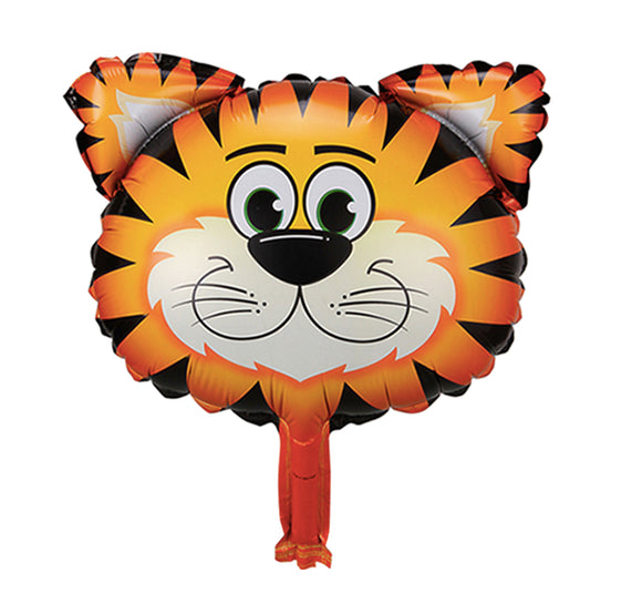 Animal head foil balloon (tiger) - CakeArtelier