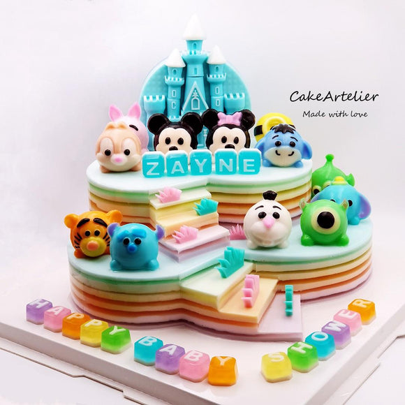 TSTS (Gatherings two tiers 06) - CakeArtelier