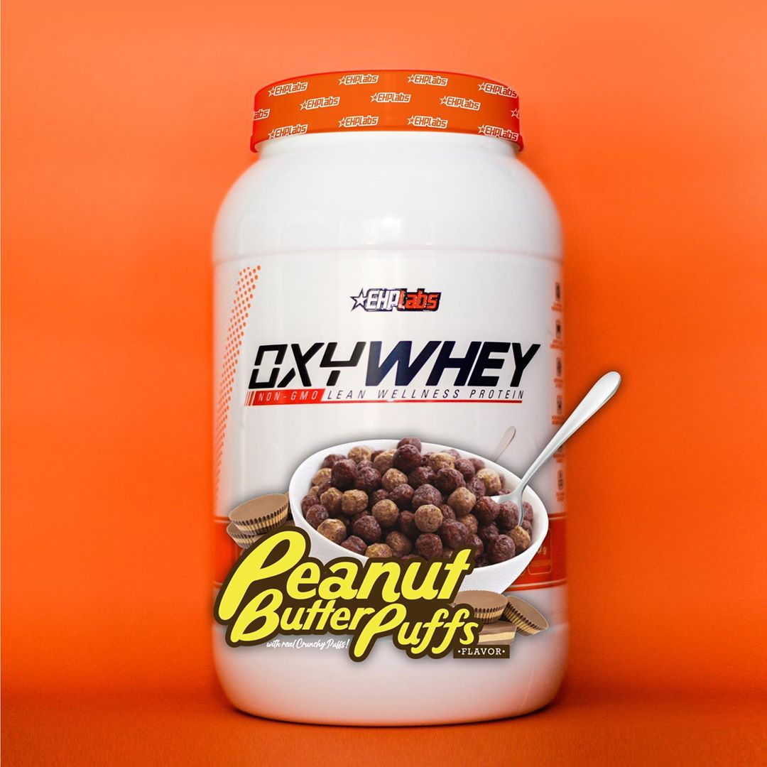 OxyWhey Peanut Butter Puffs