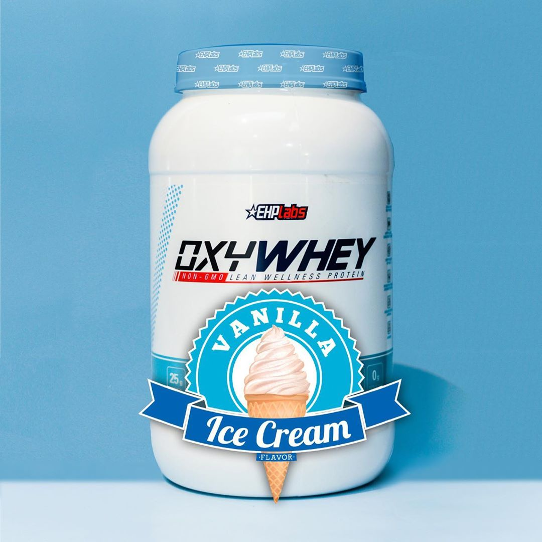 OxyWhey Vanilla Ice Cream