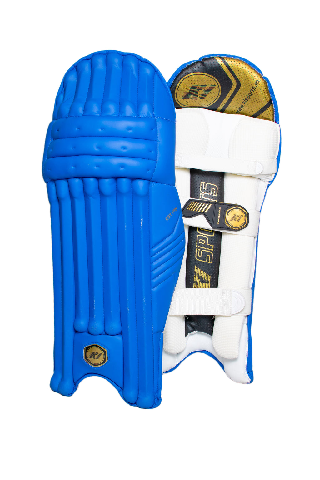 KI Test Pro Blue-Batting Leg Guard