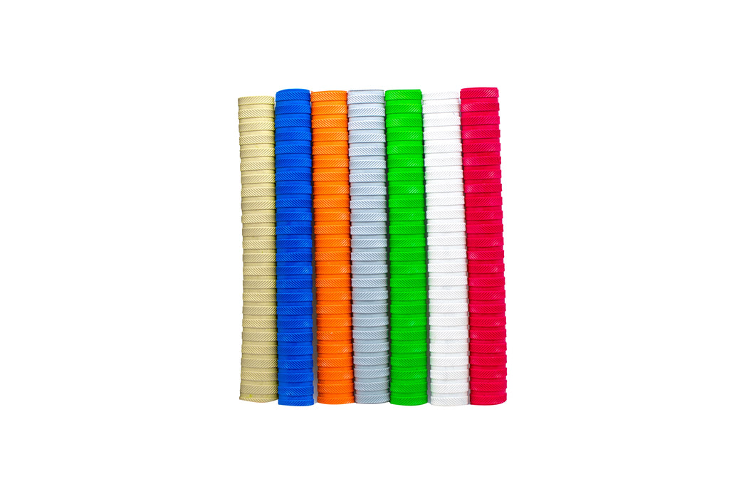 Premium Bat Grips - Assorted Colors(Pack of 6 Grips)