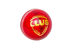RED BALLS-CLUB (Box  6 Balls)