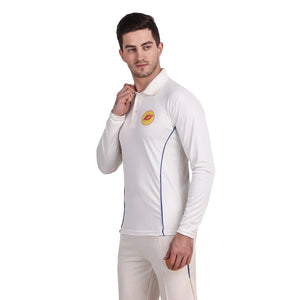 KI CRICKET WHITE T-SHIRT-PREMIUM