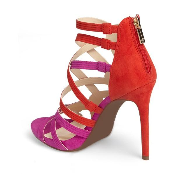 women-s-red-and-violet-hollow-out-knit-stiletto-heels-sandals