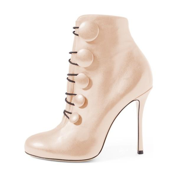 beige-stiletto-boots-round-toe-heeled-buttoned-ankle-booties