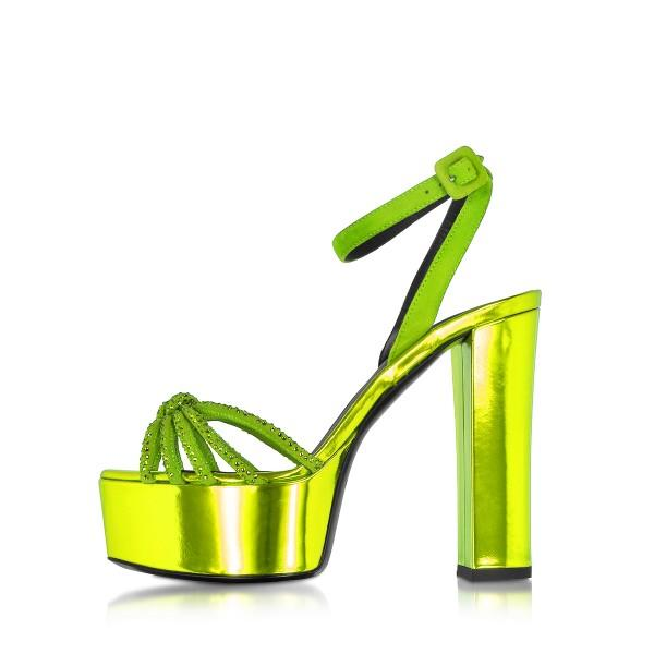 women-s-green-mirror-leather-open-toe-ankle-strap-sandals