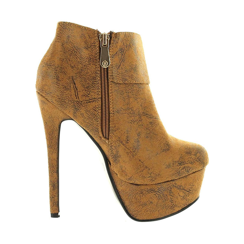 Buckle Stiletto Heel Boots-2