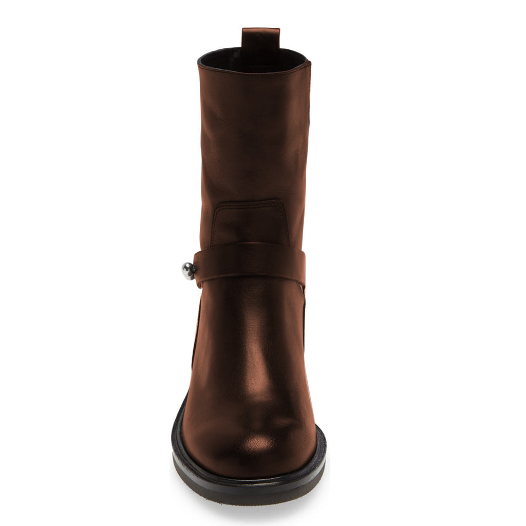 Women's Chocolate Brown Comfortable Flats Boots