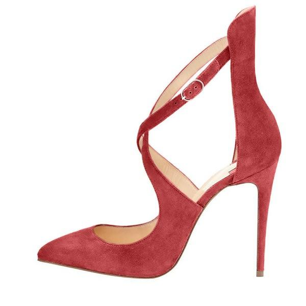red-cross-over-strap-suede-stiletto-heel-pumps
