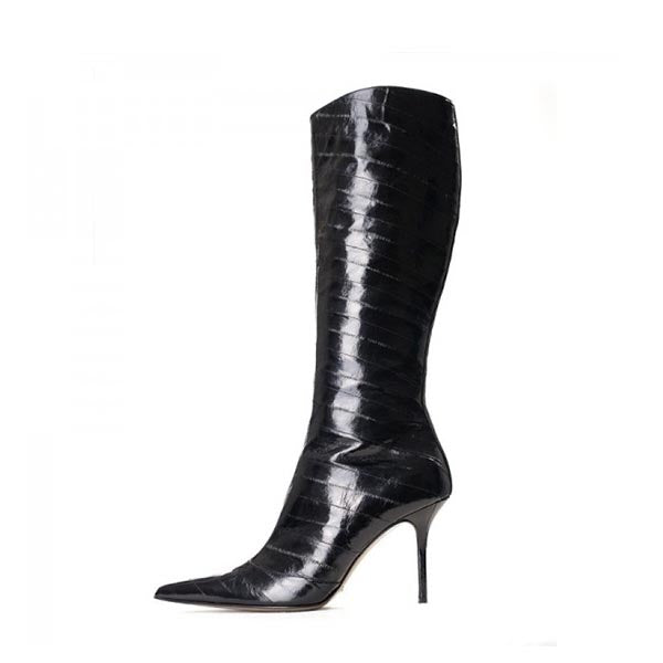 Stiletto Heels Knee-high Boots