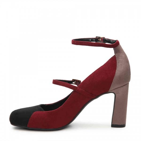 colors-suede-round-toe-chunky-heels-two-strap-mary-jane-pumps