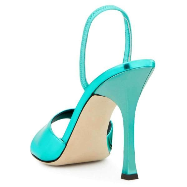turquoise-blue-patent-leather-slingback-heels-stiletto-heel-sandals