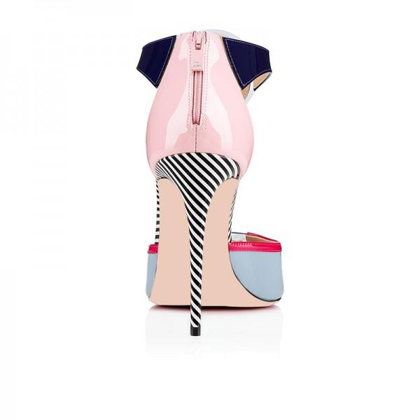multicolor-patent-leather-t-strap-heels-sandals