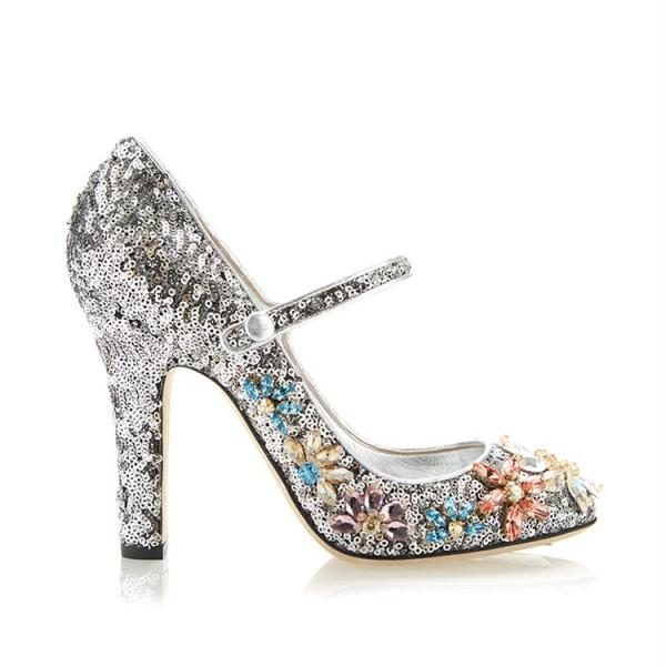silver-sequined-round-toe-chunky-heels-rhinestone-mary-jane-pumps
