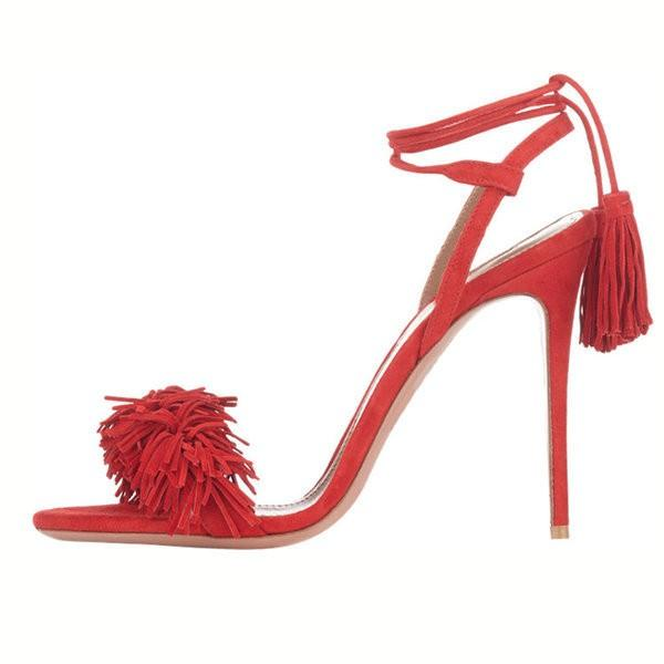 red-fringe-sandals-tassels-strappy-heels