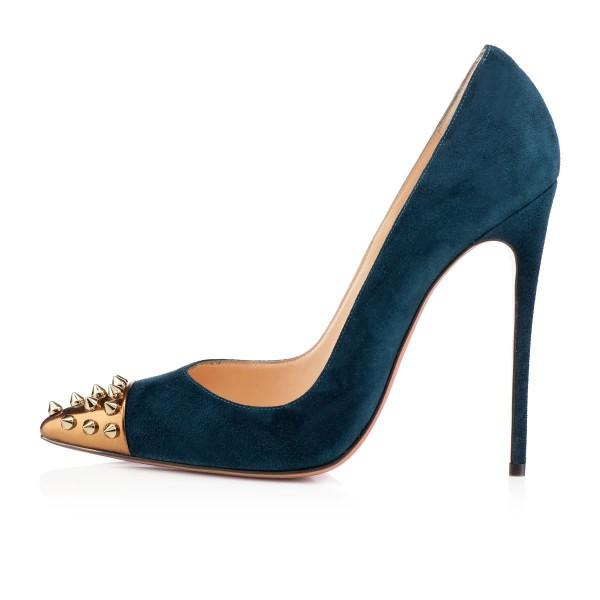 women-s-blue-pointed-toe-rivets-stiletto-heels-pumps-shoes