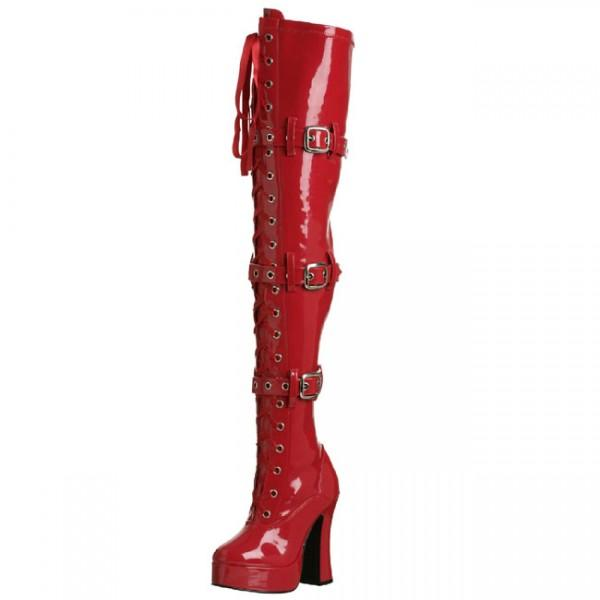 red-patent-leather-platform-studs-straps-thigh-high-heel-boots