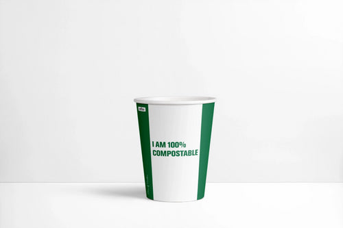 Compostable hot cups