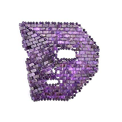 Amethyst Crystal Meditation Face Mask - Cooling Massage - Third Eye / Brow Chakra