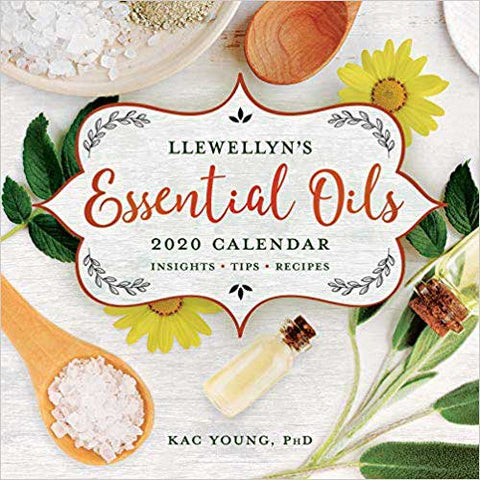 2020 Essential Oils Calendar - Aromatherapy Lovers Delight!