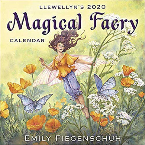 2020 Magical Faery Calendar - Wisdom from Nature Spirits