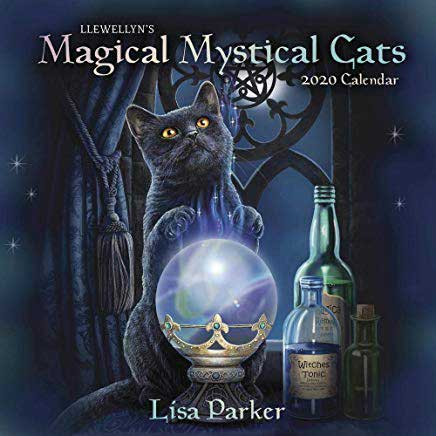 2020 Magical Mystical Cat Calendar - Purrfect for Cat Lovers!