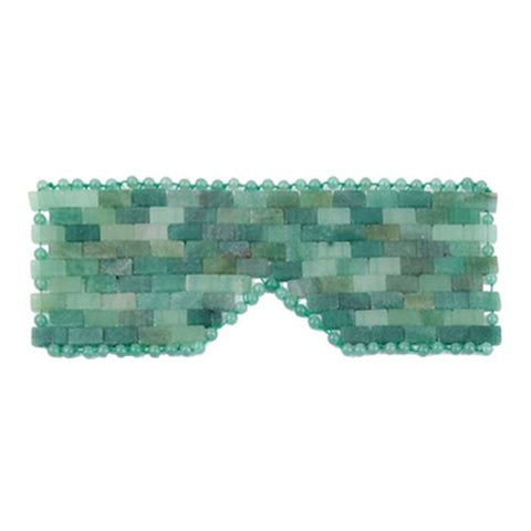 Jade Crystal Meditation Eye Mask - Balance & Good Fortune