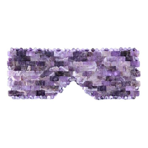 Amethyst Crystal Meditation Eye Mask - Intuition & Third Eye Chakra
