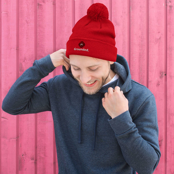 Root Chakra GROUNDED Beanie Hat