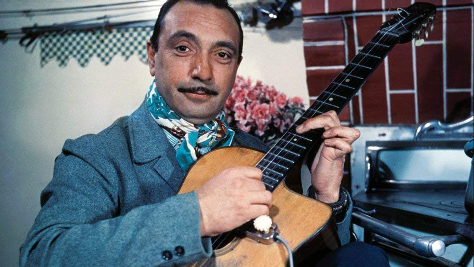 Celebrating Django Reinhardt's birthday on ABC radio