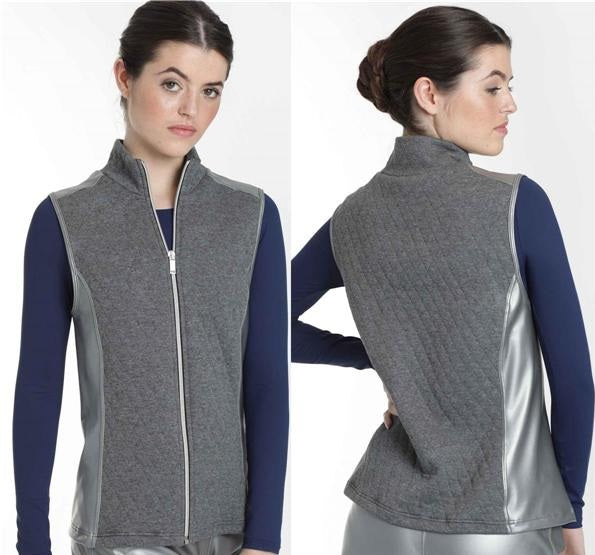 Intermezzo 6516 Silver and Grey Gilet / Bodywarmer