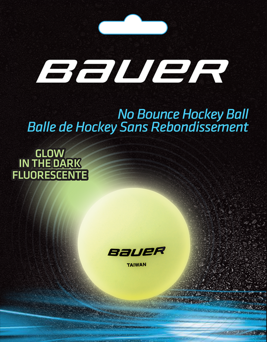 Bauer Glow In The Dark Hockey Ball