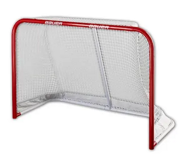 Bauer Official Steel Goal 6' x 4'