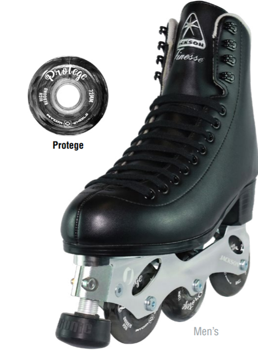 Off-Ice Figure Skates- Jackson Finesse Black