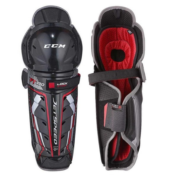CCM Jetspeed 390 Shin Guards