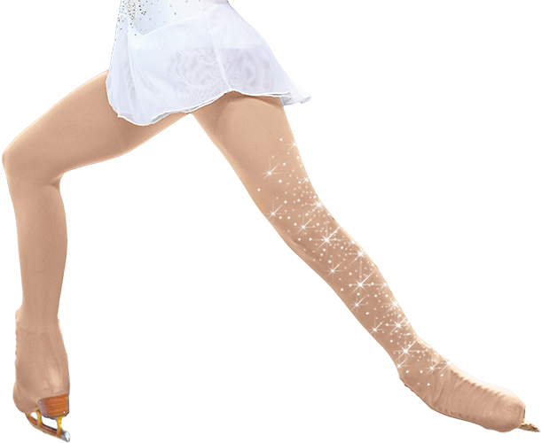 ChloeNoel Crystal Overboot Tights