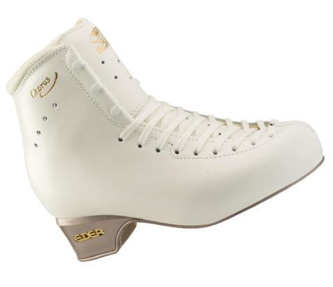Edea Chorus Ice Skate Boot Only Figure Skates - White