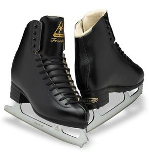 Jackson Freestyle Figure Skates- Black