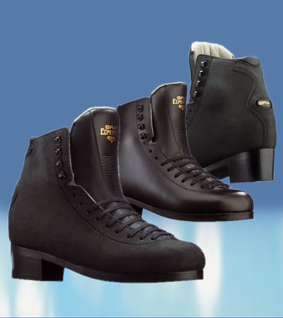 Graf Edmonton Special Boot Only Figure Skates - Black