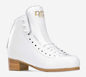 Graf Dance White Boot Only- SIZE 5M