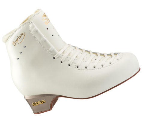 Edea Overture ice Skate Boot Only Figure Skates - White