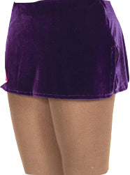 Jerry's 515 Velvet Box Skirt- Purple