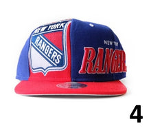 Load image into Gallery viewer, New York Rangers Snapbacks/Caps