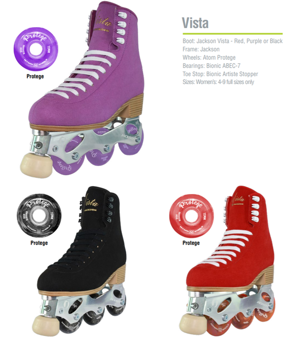 Off-Ice Figure Skates- Jackson Vista