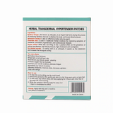 Blood Pressure Normalization Hypertension Patch